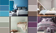 Peinture : Quelle couleur idéale pour la chambre à coucher ? Ikea Malm, Ikea Kitchen, Home Interior, Feng Shui, Bedroom Furniture, Room Decor, Recherche Google, Important, Vintage