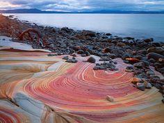 Sandstone Shoreline - Maria Island, Australia - Verena Georg Popp Hackner