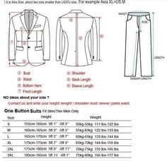 Measurement Guide | mens style and fashion | Mens fashion:__cat__