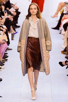 Chloé Fall 2012 RTW - amazing jacket