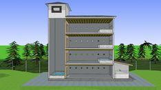 Swiftlet Nest, House Design, Bird, Architecture, Metal, Free, Arquitetura, Birds, Metals