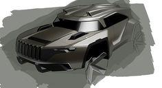 Jeep Concept by Brian Malczewski