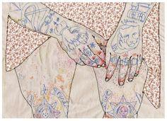 abric  embroidery  stitching  textile   Source: liza-smirnova