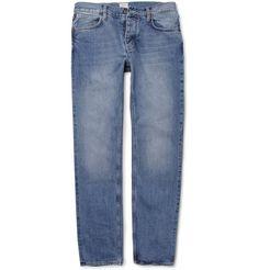 Jean.Machine J.M-3 Straight-Leg Washed-Denim Jeans | MR PORTER
