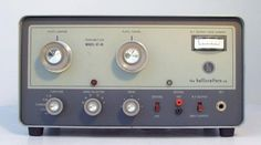 Hallicrafters HT-40 HF CW-AM Amateur Radio Transmitter. My first rig was an HT-40.  -- WA5EQQ