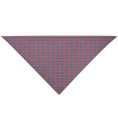 """Give your furry friend a fresh new look with a pet bandana! The triangular construction allows for easy and secure tying for a comfortable fit. Display it on the front, back, or sides of your pet's collar area as a fashion forward look for your miniature companion.• Durable, Woven Cotton/Poly Blend• One Size Fits Most Breeds• Multiple Ways to Tie to Fit Your Pet• Single-Sided Print• Wash Separately in Cold Water - Delicate Cycle• Do Not Bleach. Tumble Dry, Low Heat• 18"""" L x 18"""" W x 25.46"""" H… Triangle Shape, Woven Cotton, Dog Bandana, Fashion Forward, Your Pet, Bleach, Mosaic, Delicate, Miniatures"""