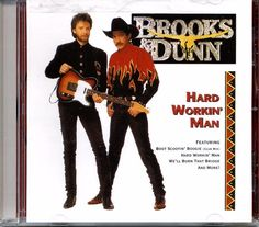 2005 BMG SPECIAL PRODUCTS HARD WORKIN' MAN BROOKS & DUNN MUSIC CD  #ContemporaryCountry