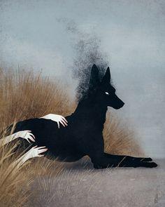 ...ты видел пса за городом, лежащего там, где похоронили ведьм.  © ᴊᴇɴɴᴀ ʙᴀʀᴛᴏɴ