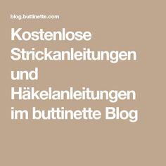 Kostenlose Strickanleitungen und Häkelanleitungen im buttinette Blog