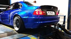 Thats a one mean machine! Heres a small teaser of this awesome project! #nmk #nmkperformance #bmw #e46 #ls #lsswap #drift #driftcar