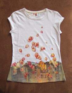 hand-painted t-shirts by ~kalinatoneva on deviantART