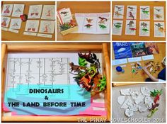 The Pinay Homeschooler: Dinosaur and the Land Before Time