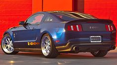 1,100 hp Shelby Mustang - sweet!