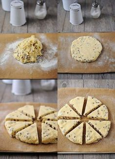 Scones aux pépites de chocolat Elegant Cupcakes, Mini Cheesecakes, Biscuit Cookies, I Foods, Biscuits, Snacks, Cake Recipes, Food And Drink, Cooking Recipes