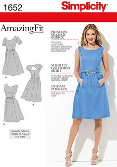 1652 - Sewing- Patterns- NZ - dresses, childrens, babies, toddlers, simplicity, burda, new look, project runway