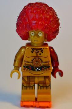 C-3PO has a raspberry afro   da karldelahaye