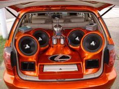 Car Audio system What else would you put back there?