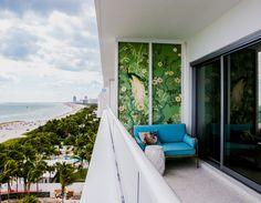 El Faena Hotel en Miami en su último tramo de construcción. Para este proyecto, Alan Faena convocó a Rem Koolhaas, Norman Foster y al director de cine Baz Luhrmann. Fotos:Chris Goodney/Bloomberg