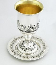 sterling silver goblet and tray www.stubadi.com