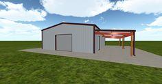 3D #architecture via @themuellerinc http://ift.tt/2qxFeMZ #barn #workshop #greenhouse #garage #DIY