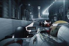 A Formula 1 street race in London - CGI Video Grand Prix Hamilton Star, Street Racing, Formula One, Cgi, Grand Prix, London, Formula 1, London England
