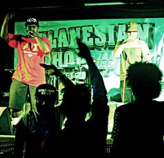 live  perform on stage