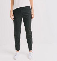 Pantalon+cigarette+Femme