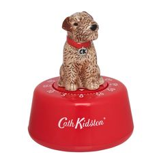 Could not resist this Cath Kidston kitchen timer. It is adorable Cath Kidston Kitchen, Simple Gifts, Great Gifts, Egg Timer, Lakeland Terrier, Wire Fox Terrier, Fox Terriers, Kitchen Timers, Cooking Gadgets