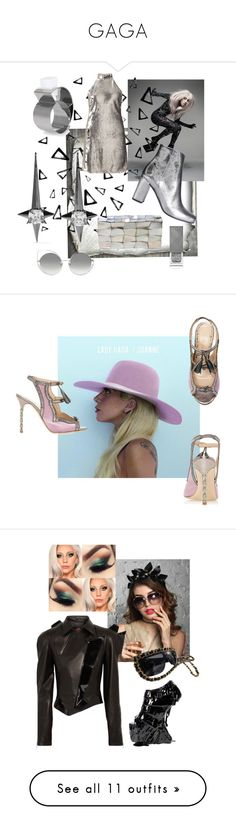 """""""GAGA"""" by christawallace ❤ liked on Polyvore featuring Nika, Noir Jewelry, Dsquared2, Jo-Liza, Yves Saint Laurent, Miss Selfridge, Marc Jacobs, Burberry, Marchesa and RVDK"""