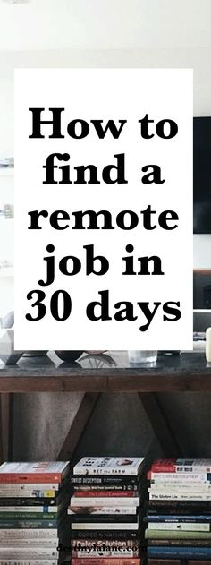 How to find a remote job in 30 day | #remotework #careeradvice | destinylalane.com