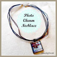 Photo Charm Necklace ~ Gift Idea