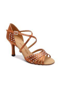 | Dancesport Fashion @ DanceShopper.com | Dancesport Fashion @ DanceShopper.com Salsa Shoes, Latin Dance Shoes, Ballroom Dance Shoes, Tango Shoes, Awesome Shoes, Open Toe Shoes, Swarovski, Shoe Bag, Lady