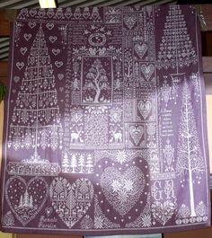 I don't like lavender but this work is beautiful ... gigi renato parolin