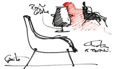 Trussardi Casa sketches