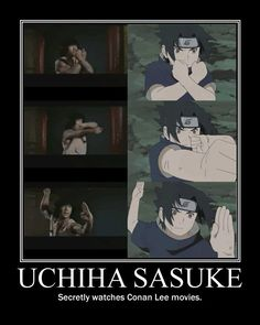 tisk tisk sasuke, and you thought we wouldn't notice...