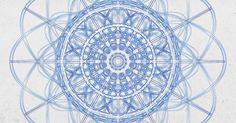 spirograph art blue - Google Search