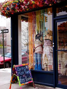 Free people Beautiful store front
