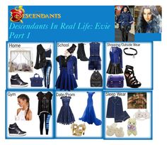 """""""Descendants In Real Life: Evie Part 1"""" by betancourtosusy on Polyvore featuring Disney, P.J. Salvage, Timberland, Ash, MCM, Yves Saint Laurent, Sea, New York, Black, Cartier and Charlotte Russe"""