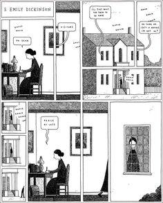 Emily Dickinson — Tom Gauld | Biblioklept