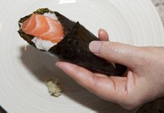 How to make perfect rice & homemade rolled sushi (temaki)