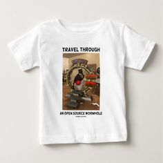 Travel Through An Open Source Wormhole (Duke) T Shirt, Hoodie Sweatshirt