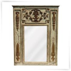 Hickory Manor House Chateau Mirror - 36.5W x 48.5H in.