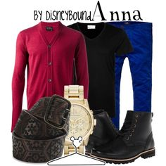 Anna Inspired Outfit by leslieakay on Polyvore (adore the combination of everything except the watch)