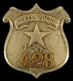 Texas State Police badge