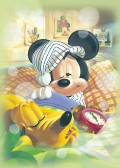 D-500-375 Tenyo Disney Mickey Mouse and Pluto Japan Jigsaw Puzzles