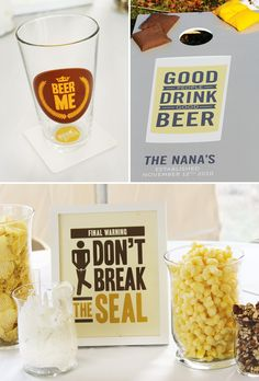 Clever Backyard Beer Tasting Party // Hostess with the Mostess® Beer Birthday Party, Hubby Birthday, 30th Birthday Parties, Birthday Ideas, Beer Tasting Parties, Beer Festival, Wine And Beer, Best Beer, Craft Beer