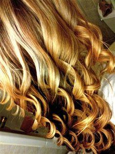 perfect spiral curls