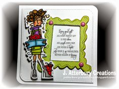 J. ATTERBURY CREATIONS: Scripture Series: Every Good Gift Card---Check Out This Week's Inspirational/Anything Goes Challenge at Word Art Wednesday!