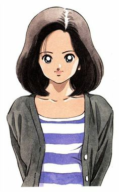Hikari Amamiya - H2 By Adachi Mitsuru