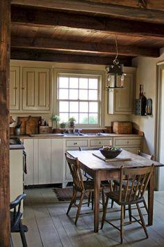 Amazingly Austere American Farmhouse By Phoebe Troyer Ideas No 04 #primitivekitchen #CountryFarmhouseDecor